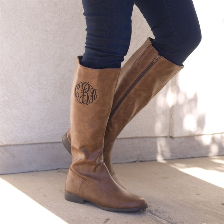Monogrammed Boots | 2 Colors! | Jane