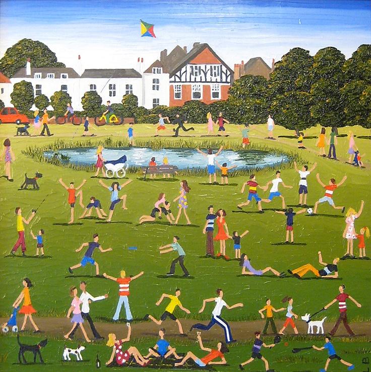 'Wimbledon Common' by Louise Braithwaite
