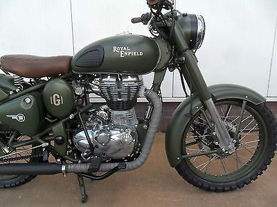 Royal Enfield Classic 500 Battle Green Limited Edition 4 • £5,995.00