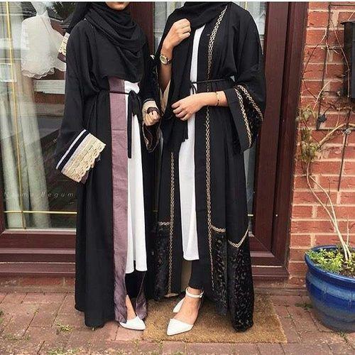 abaya hijab fashion image