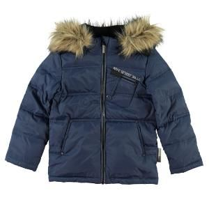 Name It Mik Boys Real Down Coat - Navy Only £35.99 inc Free Delivery!