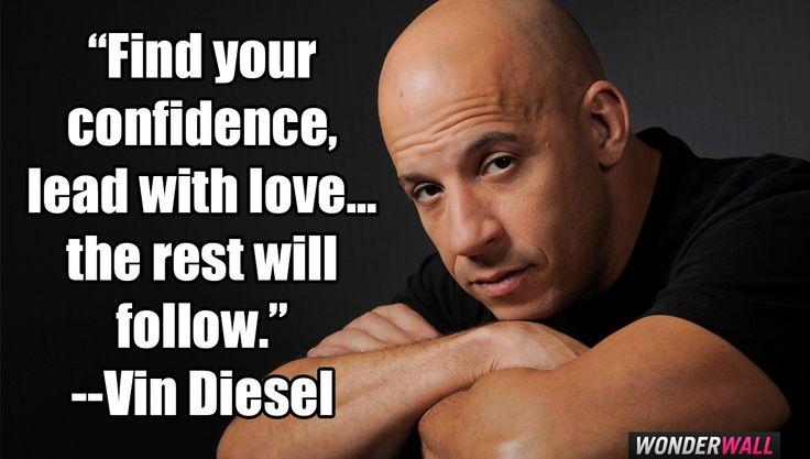 Vin Diesel quote