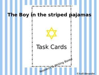Boy in striped pyjamas essay plan