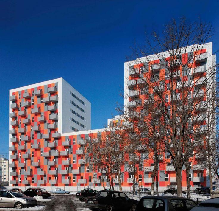 Conjunto residencial de alta densidad / Solano & Catalan