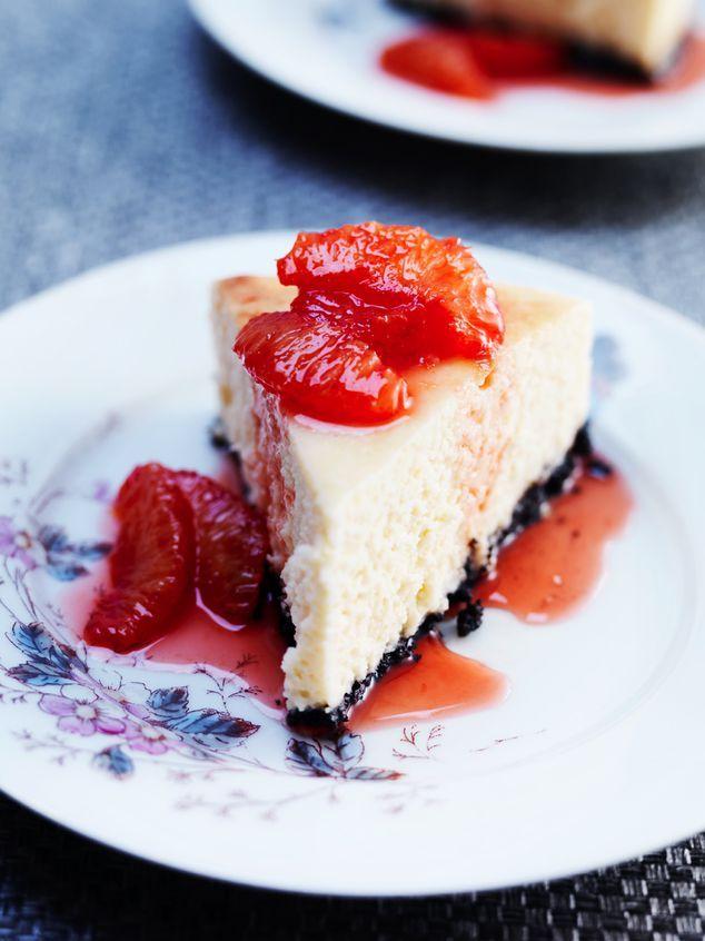 cheesecake met bloedsinaasappels   ZTRDG magazine