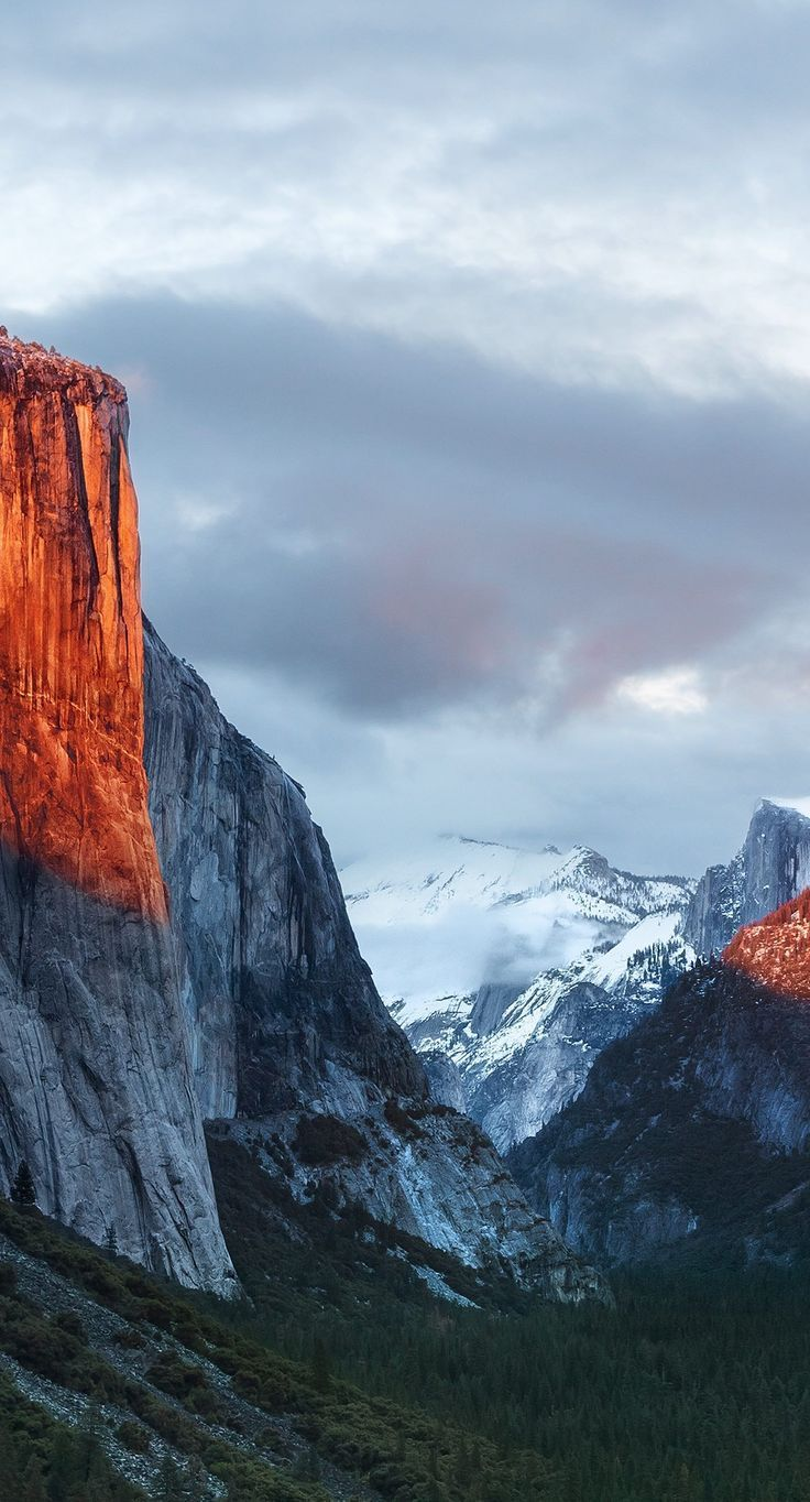 El Capitan Mountain Landschaftsberg El Capitan Wallpaper Sc Iphone6splus C Iphone Wallpaper Mountains Yosemite Wallpaper Mountain Wallpaper