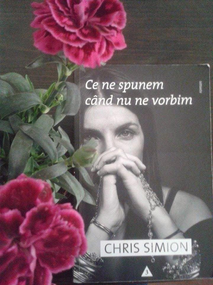 """Pulbere de stele: """"Ce ne spunem când nu ne vorbim""""Chris Simion"""