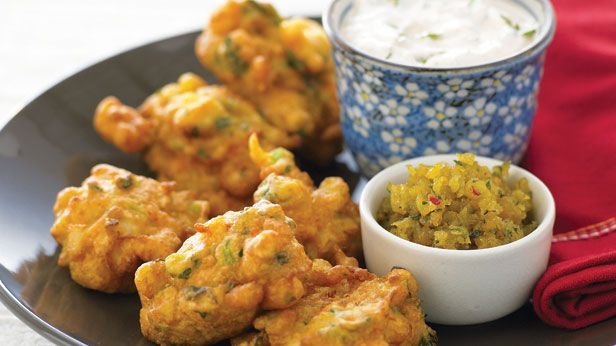 Recipes+ shows you how to make this vegetable fritters recipe.