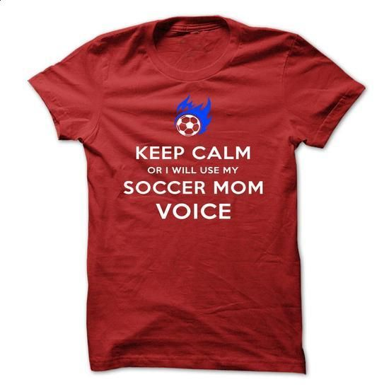 Keep Calm OR I WILL USE MY SOCCER MOM VOICE-jedga - #shirts for men #black hoodie womens. ORDER HERE => https://www.sunfrog.com/LifeStyle/Keep-Calm-OR-I-WILL-USE-MY-SOCCER-MOM-VOICE-jedga-Red.html?id=60505
