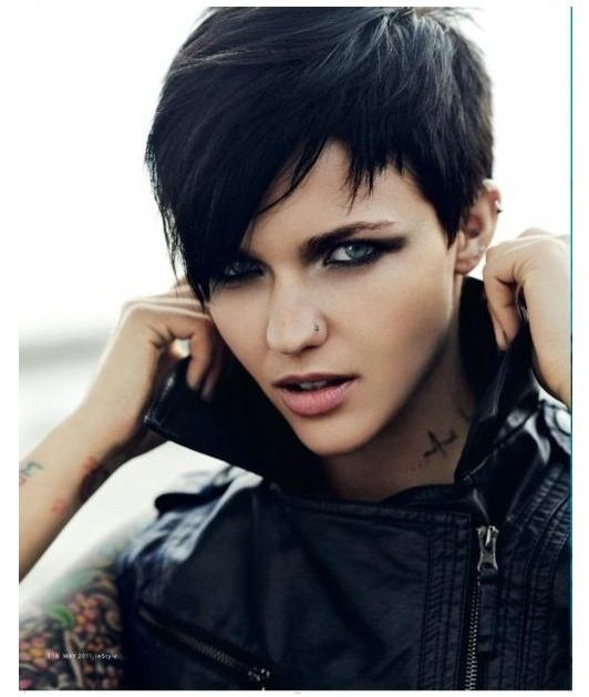 Edgy Punk Haircuts: Best 25+ Punk Pixie Haircut Ideas Only On Pinterest