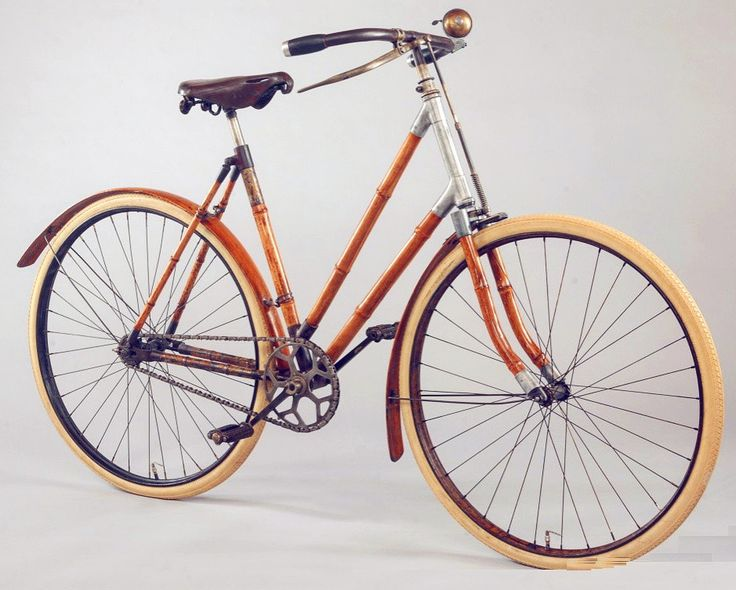 Introduced to the general public on 26 April 1894 this was the first bamboo bike on the market delivered by the Bamboo Cycle Co to aristocratic families in England.