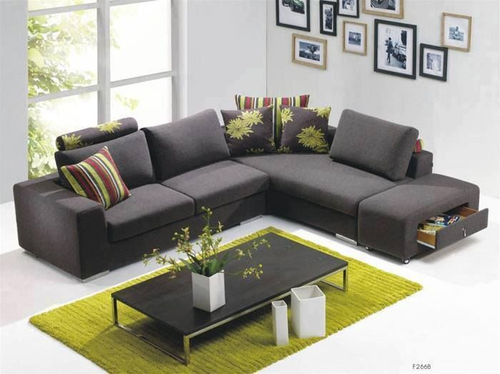 j'aime ce sofa, il a l'air douillet !