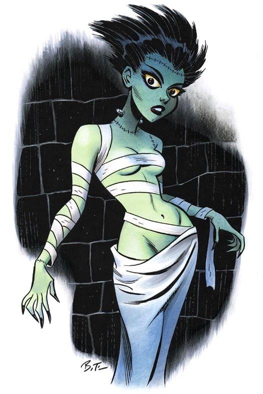 Bruce Timm, The Bride of Frankenstein