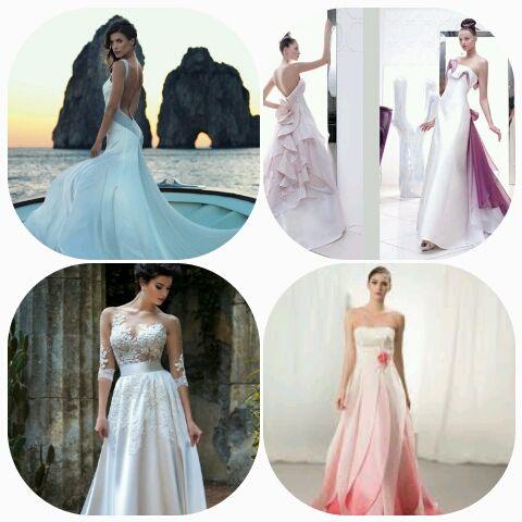 """BIANCA O COLORATA?! Sembra proprio che l abito da sposa sia sempre meno tradizionale….sempre più """"a colori """" oltre che scollato e sexy! E che uno dei colori molto IN sia il rosa e sue cromie ….. E voi..."""