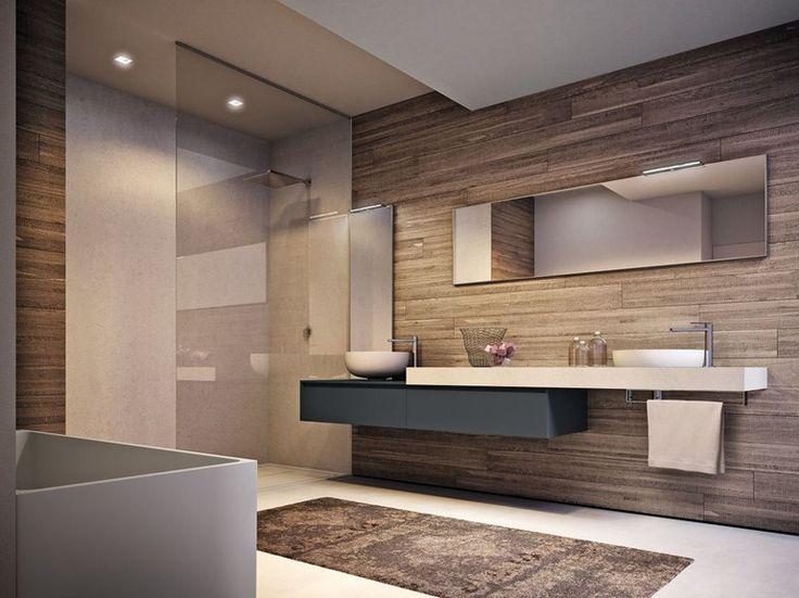 Descarregue o catálogo e solicite preços de Cubik n°12 by Ideagroup, casa de banho completa em laminado, coleção Cubik