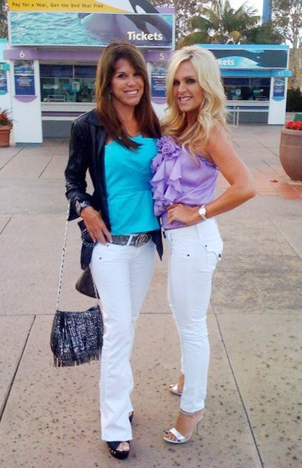 Tamra Barney and Lynn Curtain