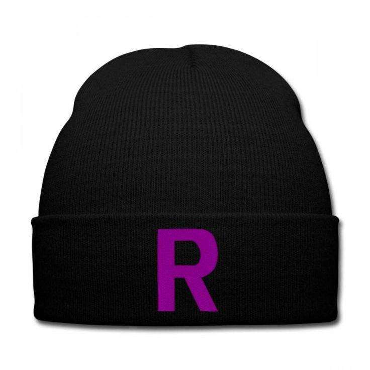 team rocket R Knit Cap