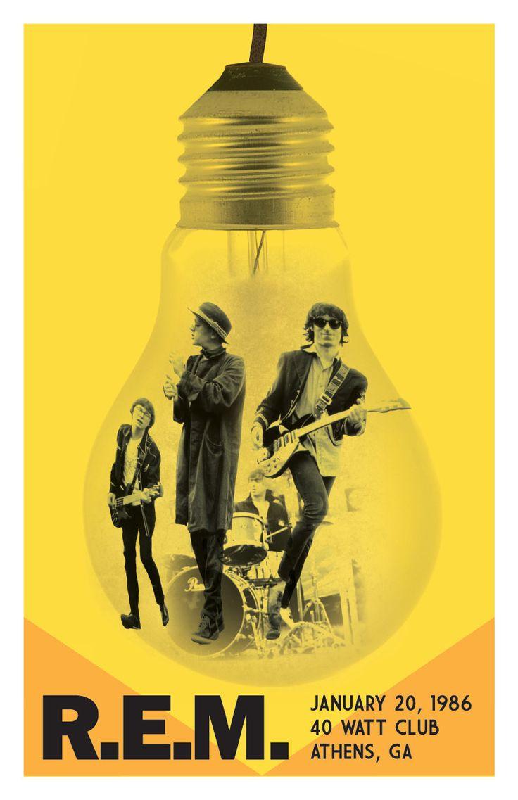 R.E.M. illuminated