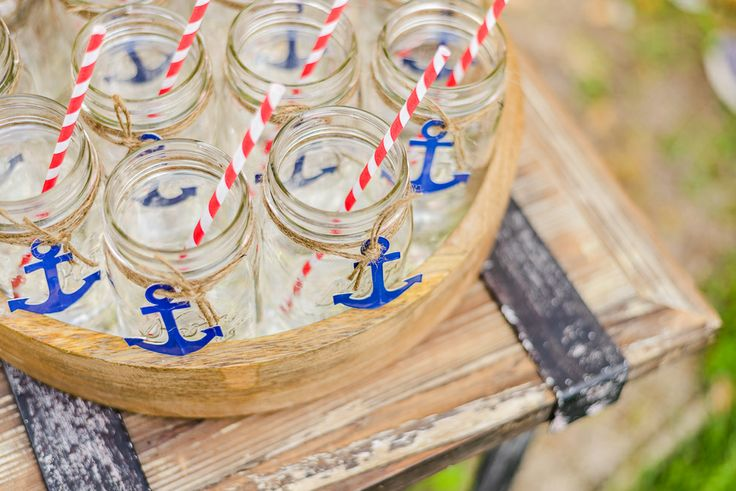 Vintage Nautical Baby Shower Decor and Styling - Honeynhero Photography | Honeynhero Photography