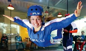 Groupon - Two Indoor-Skydiving Flights with Two Digital Photos for One, or One Flight with Video for Five at iFLY Orlando (Up to 49% Off)    in Florida Center. Groupon deal price: $39