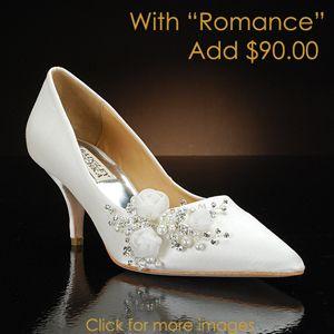 badgley mischka monika-pk   Wedding Shoes