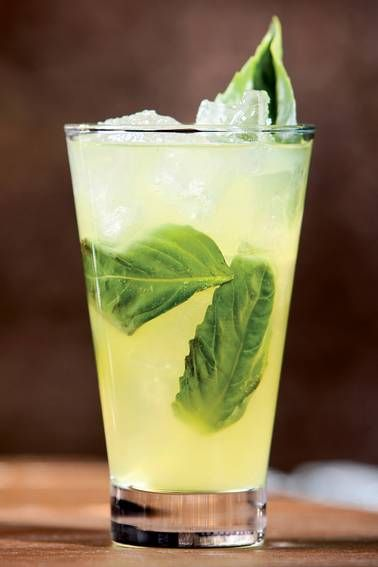 Savile Row's Basil Bianco cocktail gives a spirited cleanse