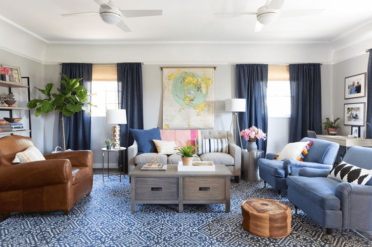 Sylvia's Surprise Makeover: The Living Room