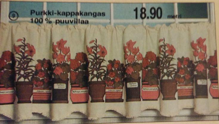 Anttilan postimyyntikuvasto kevät-kesä 1981