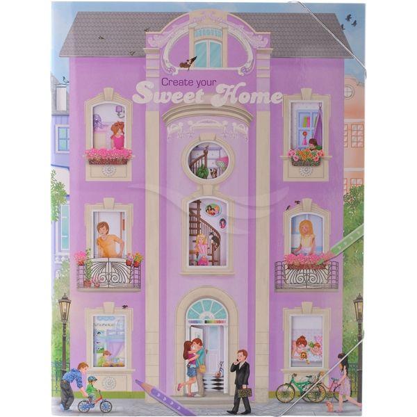 Sweet Home Design Bok - Aktivitetsbøker - Depesche | Shopping4net