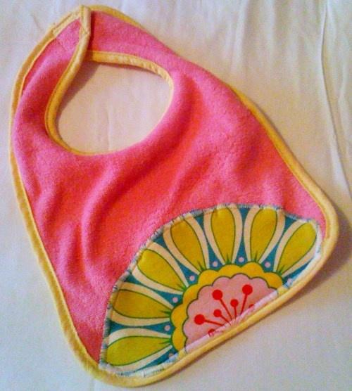 Wash Cloths As Burp Cloths: Embellish A Bib, Washcloth, Burp Cloth, Etc