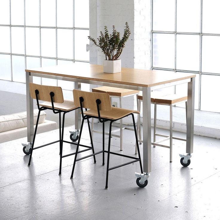 tall kitchen table on wheels now our lives are different weve - High Tables For Kitchen