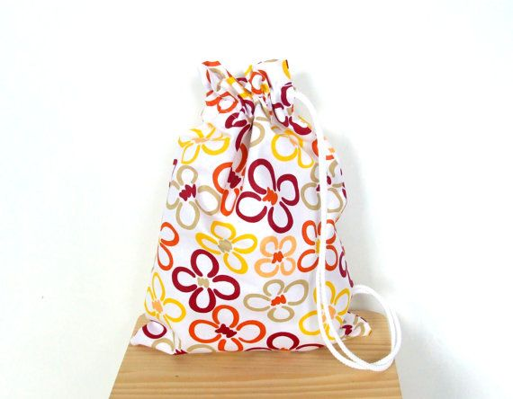 Drawstring Bag  Toys Bag  for Slippers Sneakers  to by CottnLove