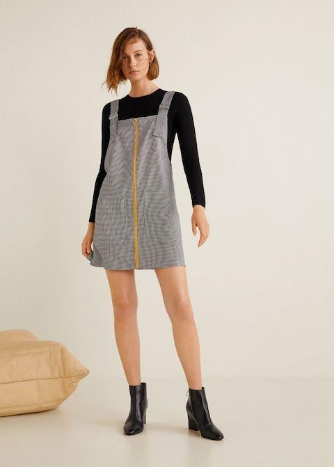 cf20b7f357b Pockets pinafore dress - Woman