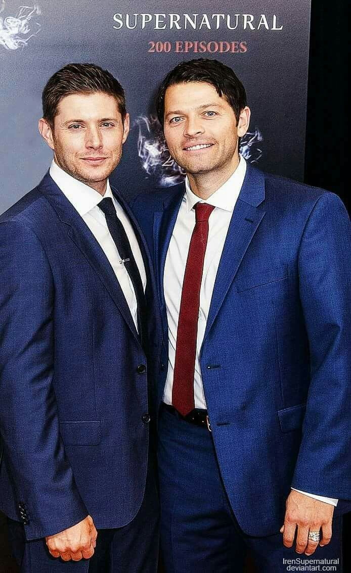 what Misha did that he is the same height? Wth