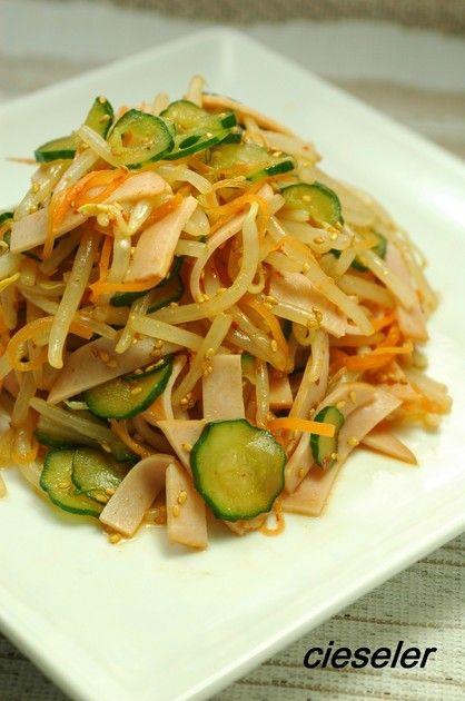 もやしのピリ辛サラダ デパ地下風 by シズレ [クックパッド] 簡単おいしいみんなのレシピが228万品