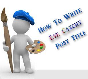 Seo friendly post title