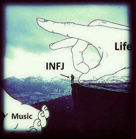 Oh my gosh, this is soo true. YES, surround me with music and I'm in a safe/happy place.