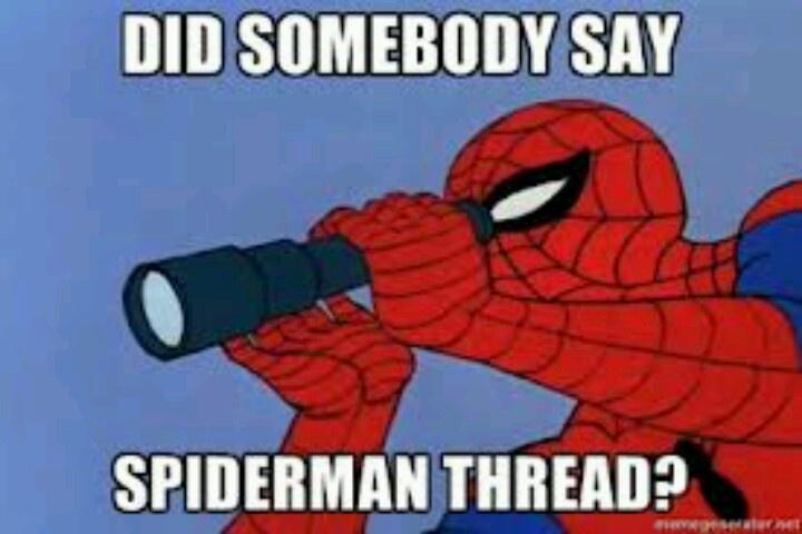 Did someone say spiderman thread - photo#4