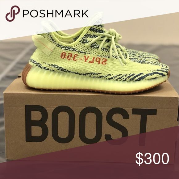Yeezy Boost 350 V2 Semi Frozen Yellow These shoes are brand