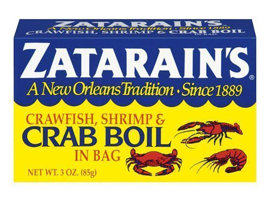 Zatarain'S Crawfish,Shrimp And Crab Boil In A Bag From  Orleans 3 Oz