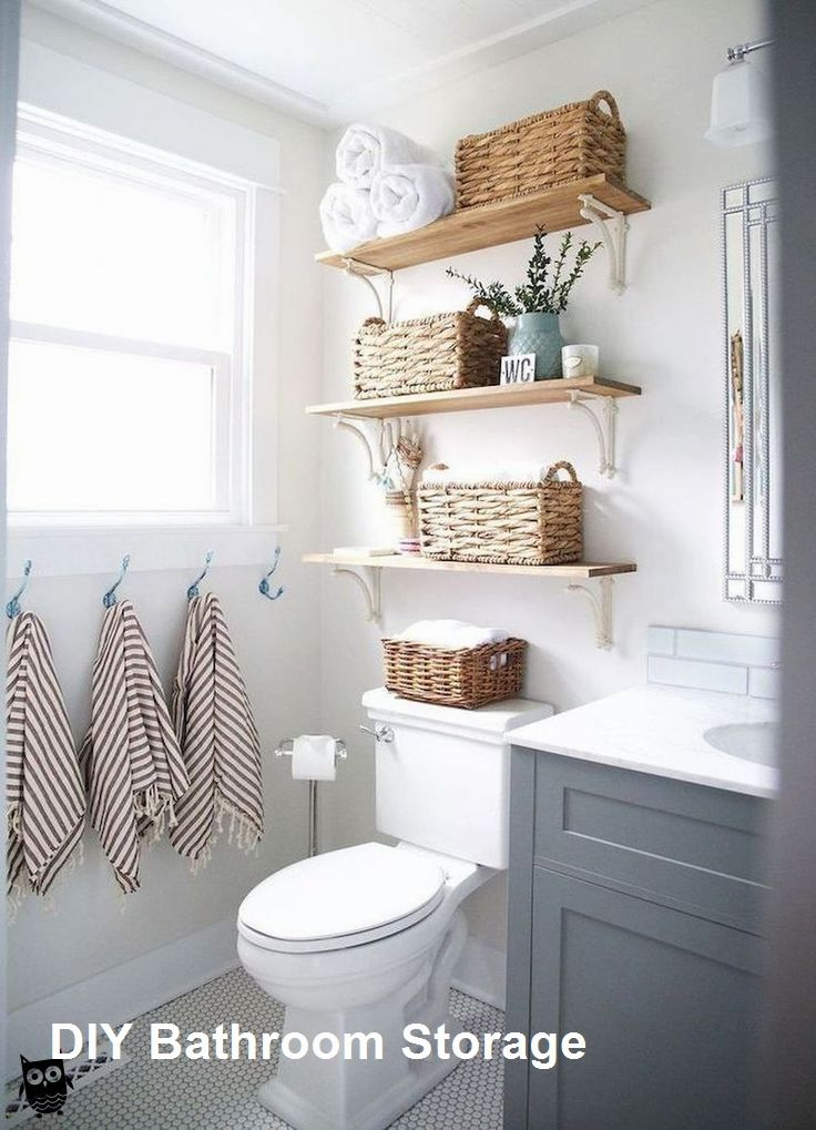 Bathroom Storage Ideas For Small Spaces In 2020 Small Bathroom Decor Bathroom Decor Small Bathroom