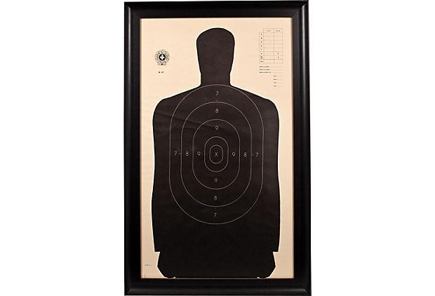 surete du quebec police shooting target.