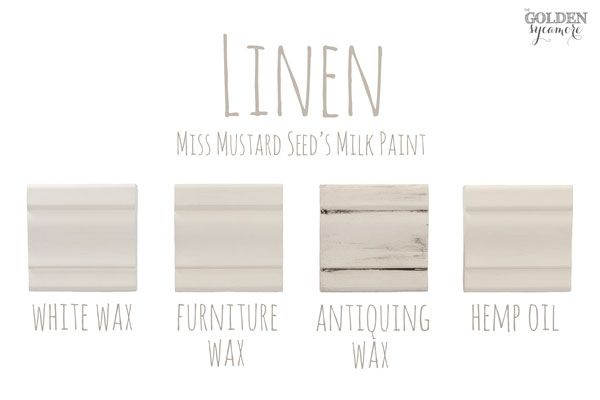 Miss Mustard Seed's Milk Paint Colors and Finishes