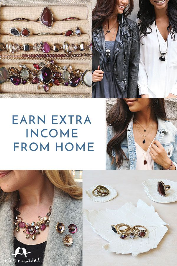 Start running your own #chloeandisabel jewelry business through our fun + flexible opportunity in fashion! You'll receive 25-40% commission on all sales, cash bonuses at lifetime milestones + guidance from team leaders to help you reach your goals. Invest in your brightest future today by following the Chloe + Isabel formula for success!