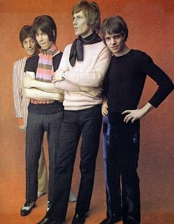 Peacock Revolution-The Herd in 1968. From left: Andrew Steele, Andy Bown, Gary Taylor and Peter Frampton