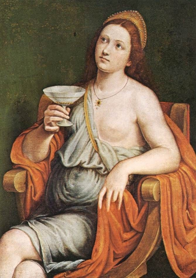 Image result for having a drink in renaissance painting