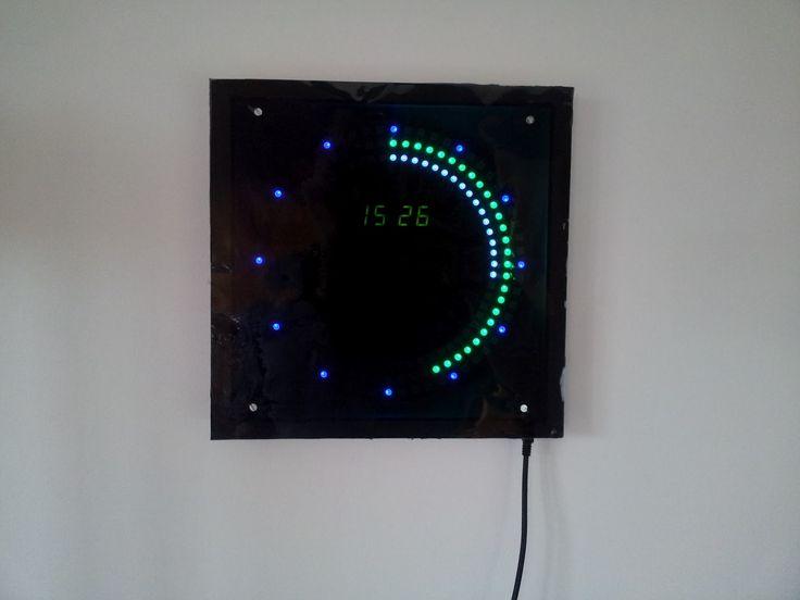 Arduino LED clock