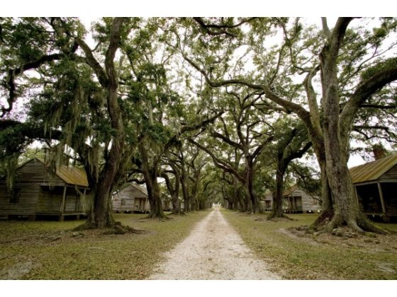 This undated photo released by the Louisiana Office of Tourism shows slaves quarters at the Evergreen Plantation in Wallace, La. The plantation is on the list of places that Louisiana tourism officials recently unveiled as the first 26 sites on an African American Heritage Trail running from New Orleans to Northern Louisiana.
