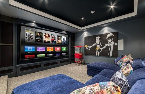 Winning Home Theater Sets Mood with Sensors and Lighting Control