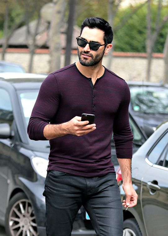 Tyler Hoechlin in Paris, France on 1 October, 2016